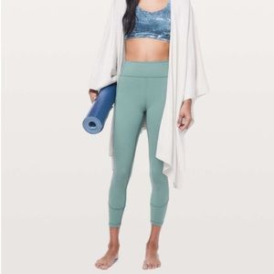 """Lululemon In Movement 7/8 High Rise Tight 25"""""""